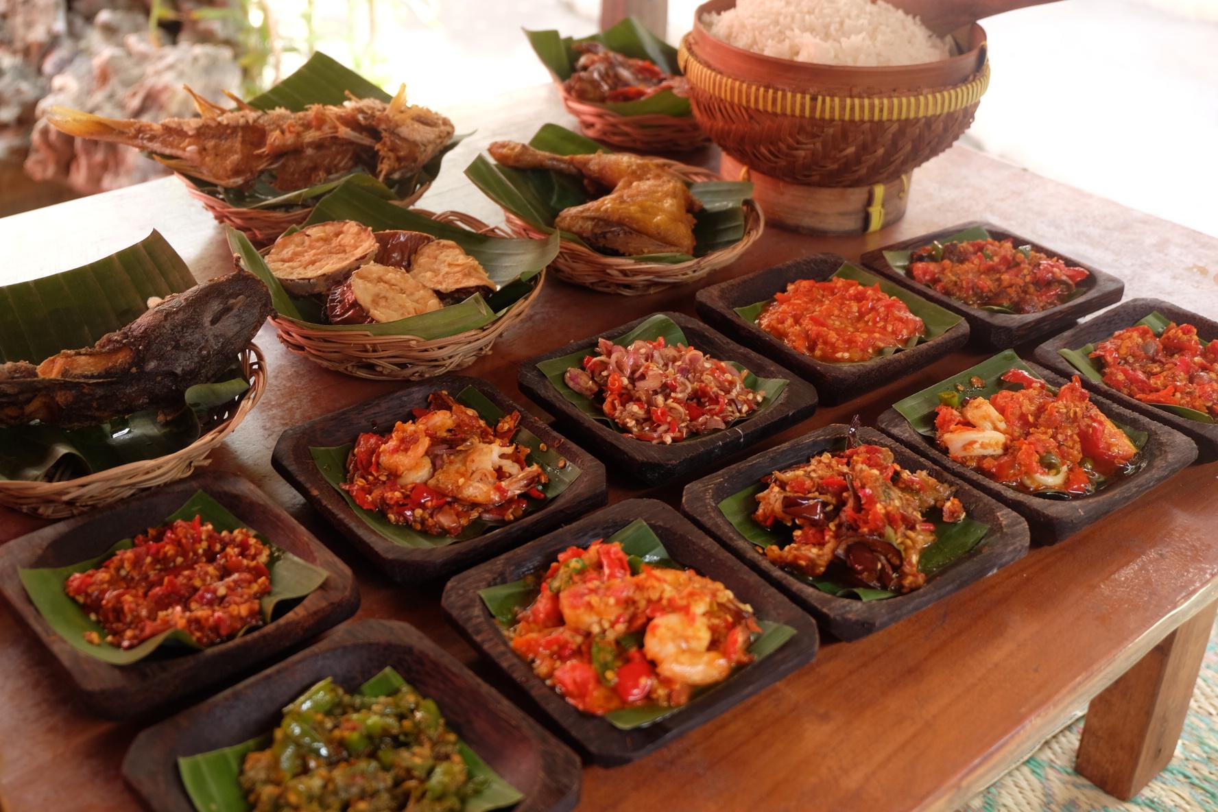 Balinese food best in ubud bali
