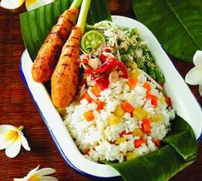 nasi-sela bali subak cooking class
